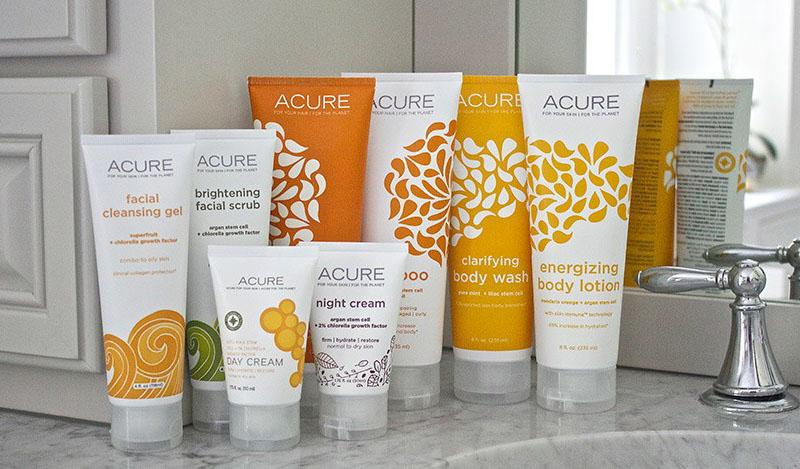 Скидка -10% на Acure Organics