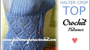 Top para tejer a crochet / patrones