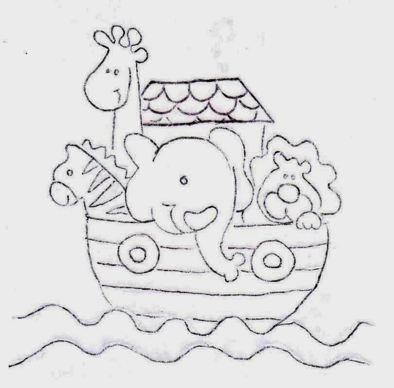 Desenhos Da Arca De Noe Para Colorir E Imprimir Desenhos
