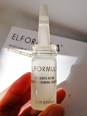 Review Elformula 28 Days Acne Relief Repairing Solution