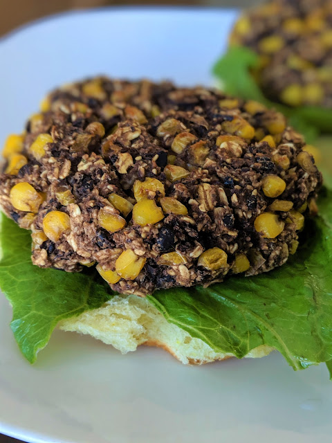 Black Bean and Corn Burger