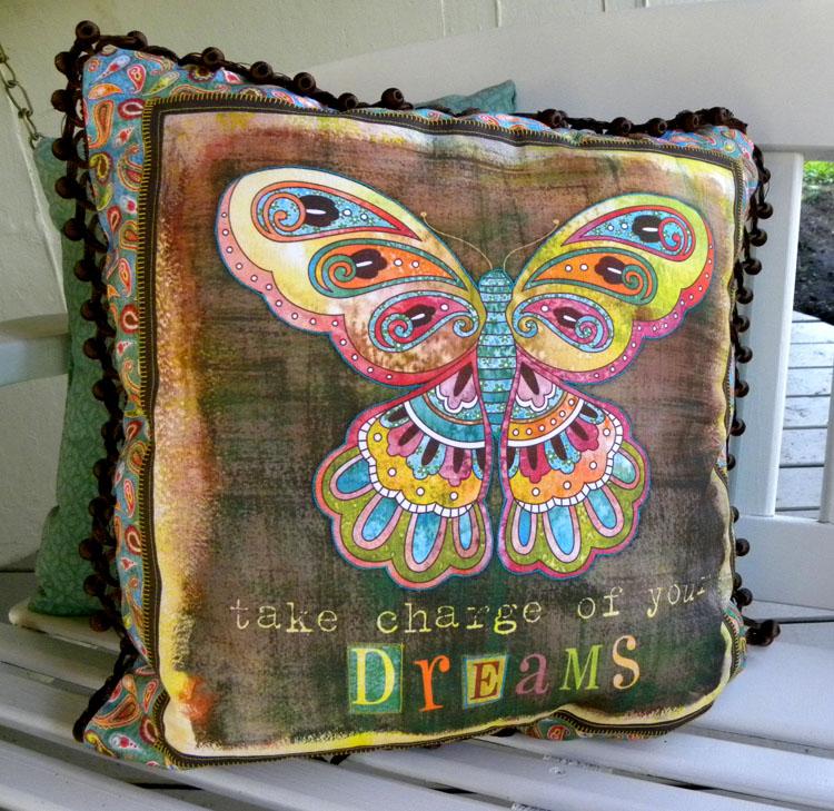 Wendy Bentley Design Blog: Boho Butterfly Pillows