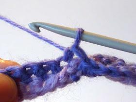 Latvian Twist - stitch done