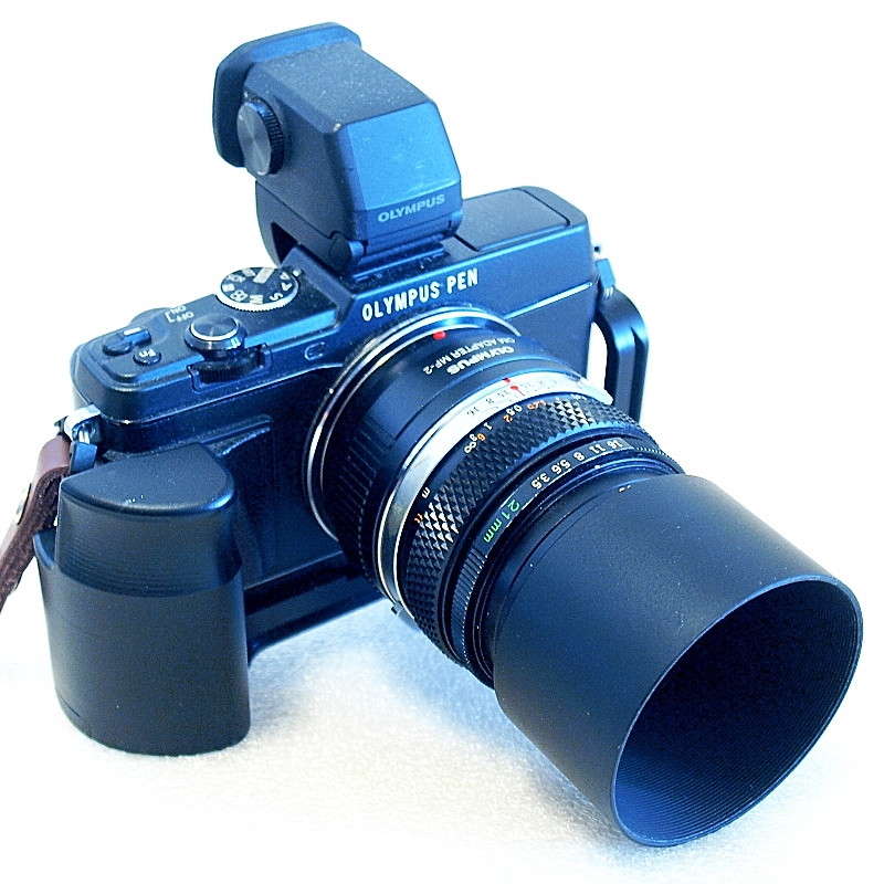 Olympus E-P5, Zuiko OM 21mm F3.5