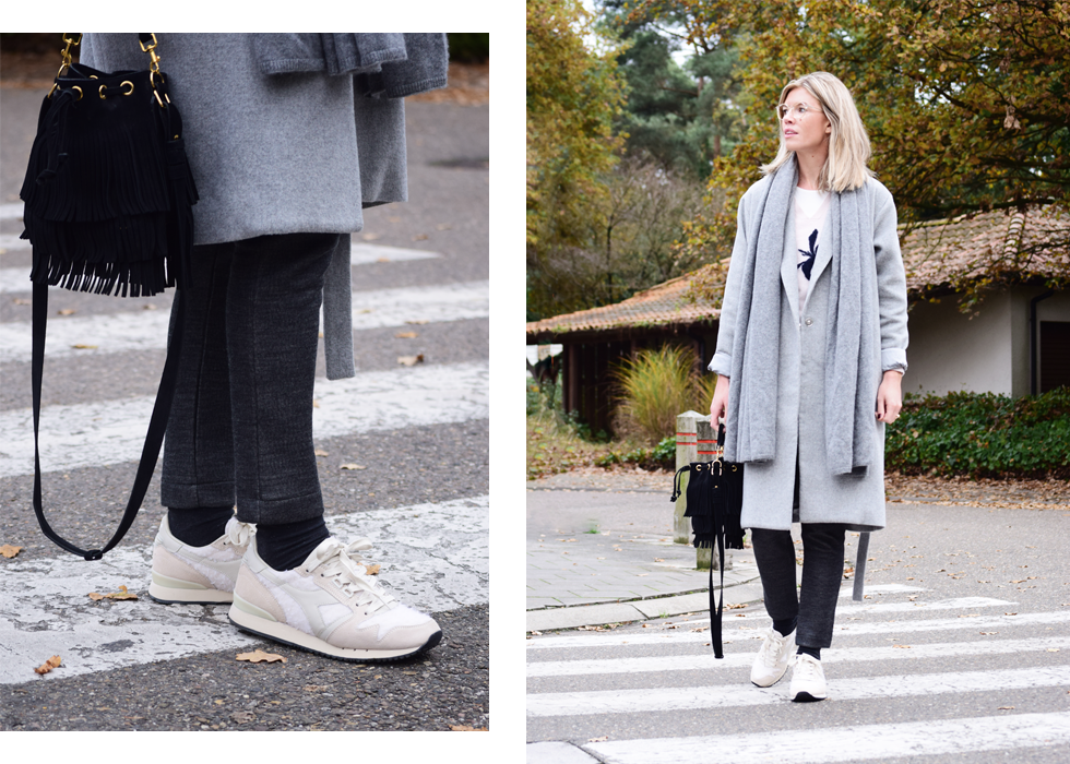 Outfit of the day, Diadora, Dutchess, Saint Laurent, max&co, Lafont, Dewolf, ootd, style, fashion, blogger, look, winter