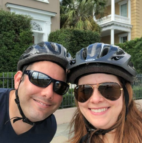 Riding bikes in Charleston SC