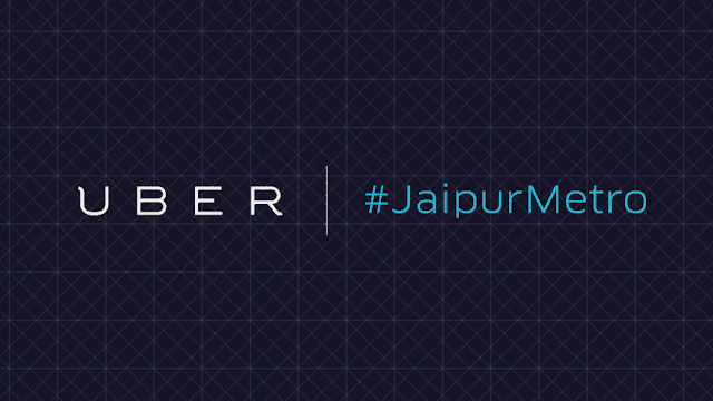 Welcome Jaipur Metro with 25% discount on  Uber ride