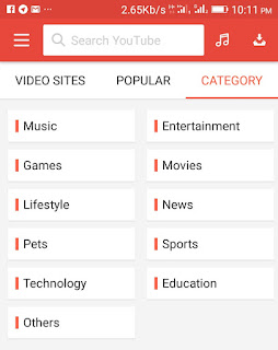 Videos music downloader