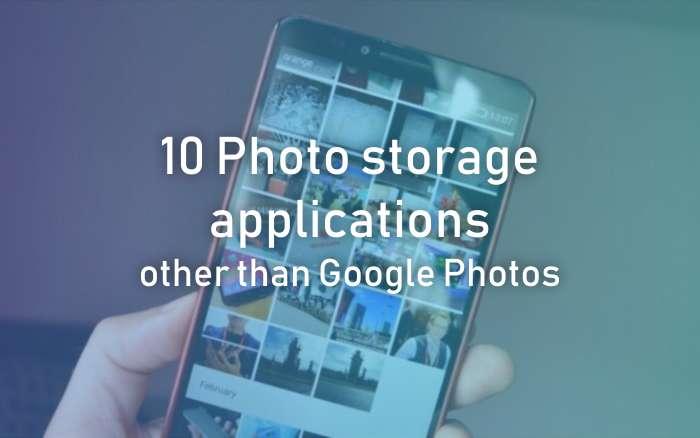 Photo Storage Applications