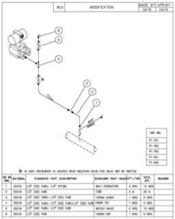 What is hook up drawing in instrumentation