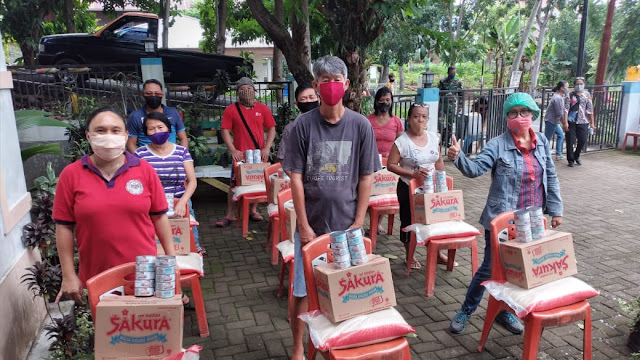 Bansos tahap ketiga Kelurahan Kadoodan masih 556 Kepala Keluarga