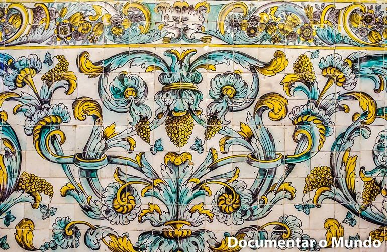 Salão Nobre; Azulejos Portugueses; Palácio dos Condes da Calheta