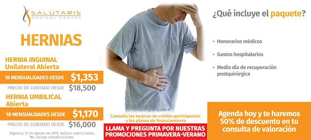 Cirugia de Hernia Inguinal Abierta en Guadalajara