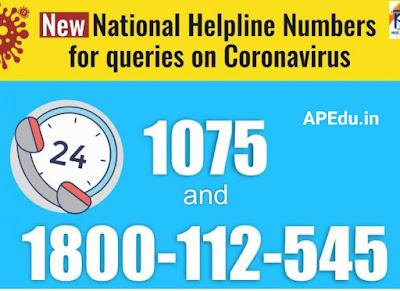 Coronavirus Helpline: The Center says it needs to call 1075 for virus-related information.