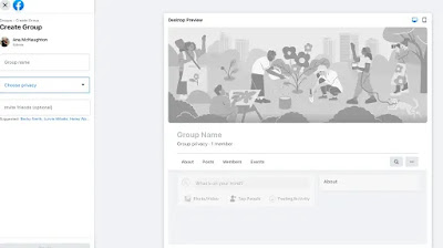 How to create Facebook group for Business