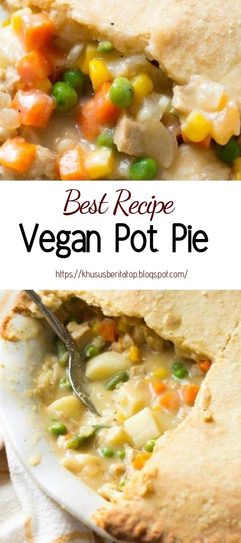 Vegan Pot Pie #vegan #recipevegetarian
