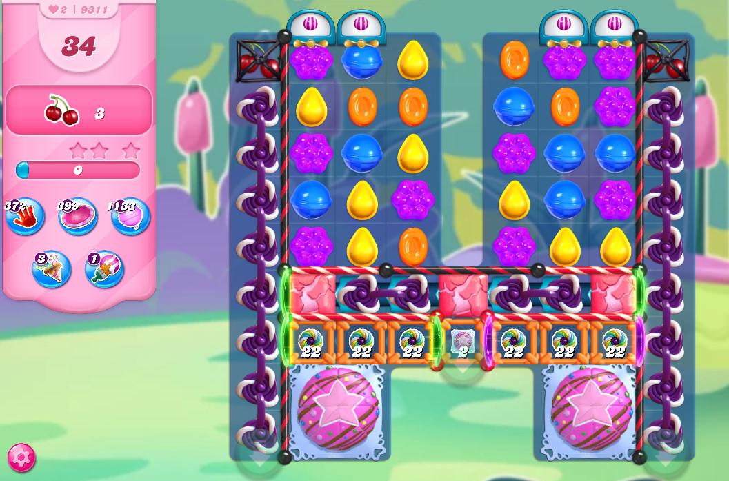 Candy Crush Saga level 9311