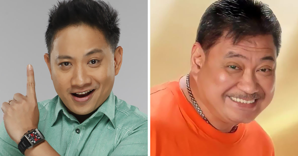 Michael V. (left) and Jimmy Santos (right)