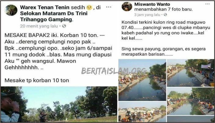 Pemancing Ikan di Jogja Merasa Dikibulin Oleh Timses Jokowi, Janji Ikan 10 Ton Ternyata Zonk!