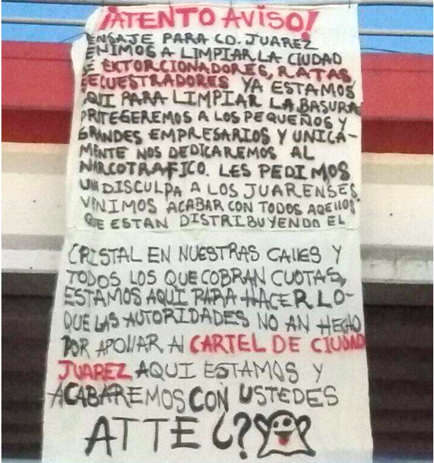 Borderland Beat: Narcomanta in CD Juarez