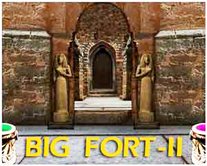 Mirchigames- Big fort Escape-2