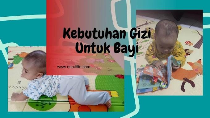 Kebutuhan Gizi Untuk Bayi