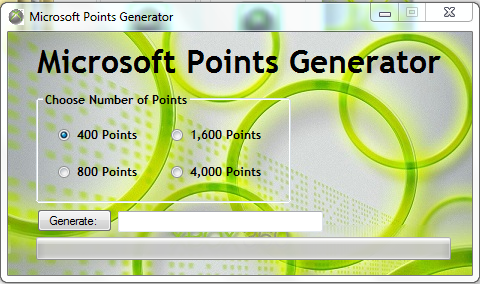 FREE MICROSOFT POINTS GIVEAWAY CODES