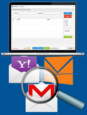 Best Mail Detector & Extractor Tool to export all Gmail, Yahoo, Outlook.com Email contact Addresses