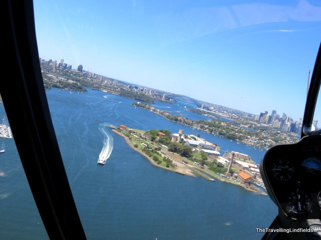 Helicopter Flightseeing SydneyHarbour