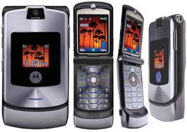 Spesifikasi Handphone Motorola RAZR V3i