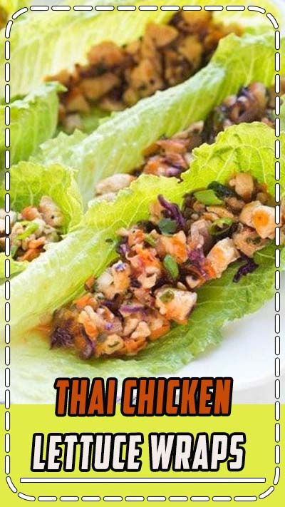 Healthy food has never tasted so AMAZING! These Thai chicken lettuce wraps are bursting with bold flavor, and fresh ingredients. #healthy #lettucewraps #withpeanutsauce #thai #cleaneating