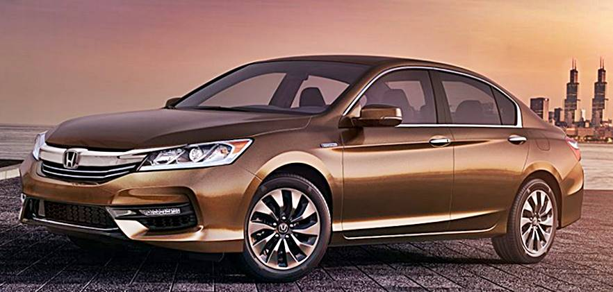 2017 honda accord hybrid launches with best in class fuel economy. Black Bedroom Furniture Sets. Home Design Ideas
