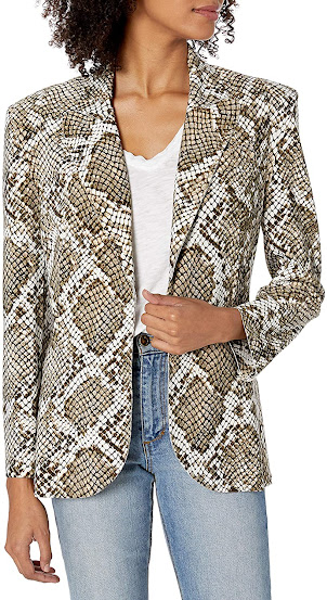 Snake Pattern Blazers For Women
