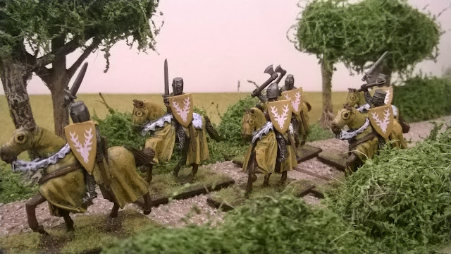 crusader miniatures knights mounted baratheons