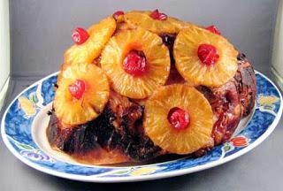 Brown Sugar and Pineapple Glazed Ham - Best Ham Recipe