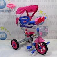 sepeda roda tiga family f319ht astro tongkat