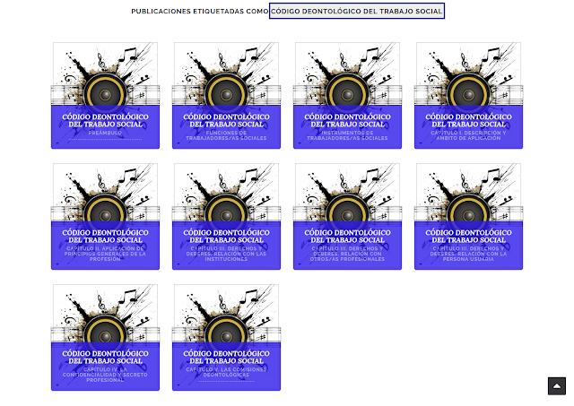 10 archivos de audio con el Código deontológico del trabajo social para escuchar online y/o descargar en MP3
