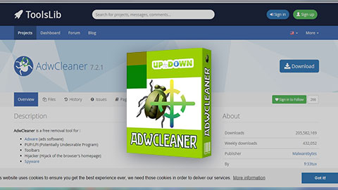 AdwCleaner: Deletes Adware, Toolbars, PUP & browser