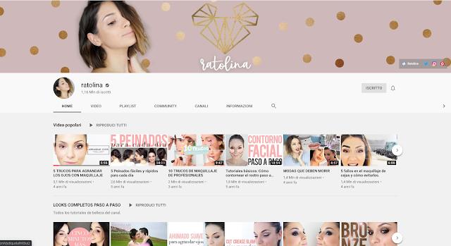 canales preferidos de maquillaje en youtube, youtubers espanolas, beauty guru espana, ratolina, livin la vida beauty, martabel, favourite spanish beauty bloggers