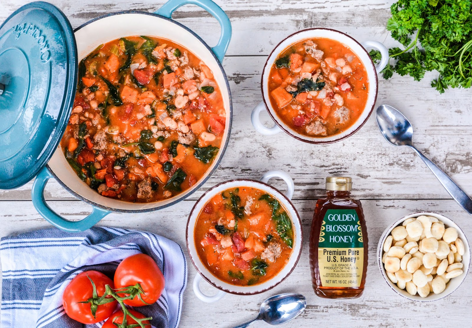 Vegetable & Turkey Sausage Soup