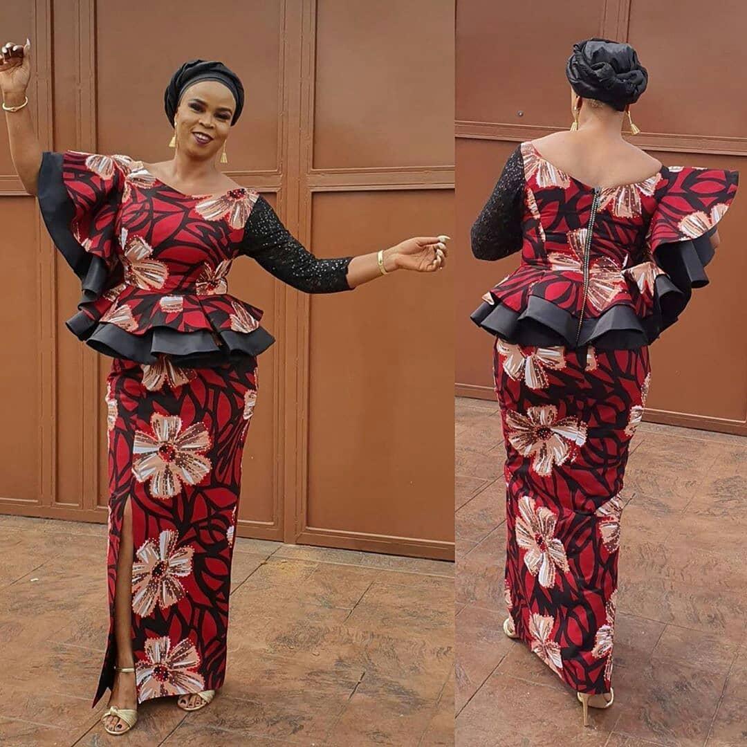 e1feb2cdb611be Creative Aso Ebi Styles for Ladies ~ Dezango Hub