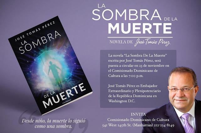 Pondrán en circulación nueva novela del embajador José Tomás Pérez en el Comisionado Dominicano de Cultura