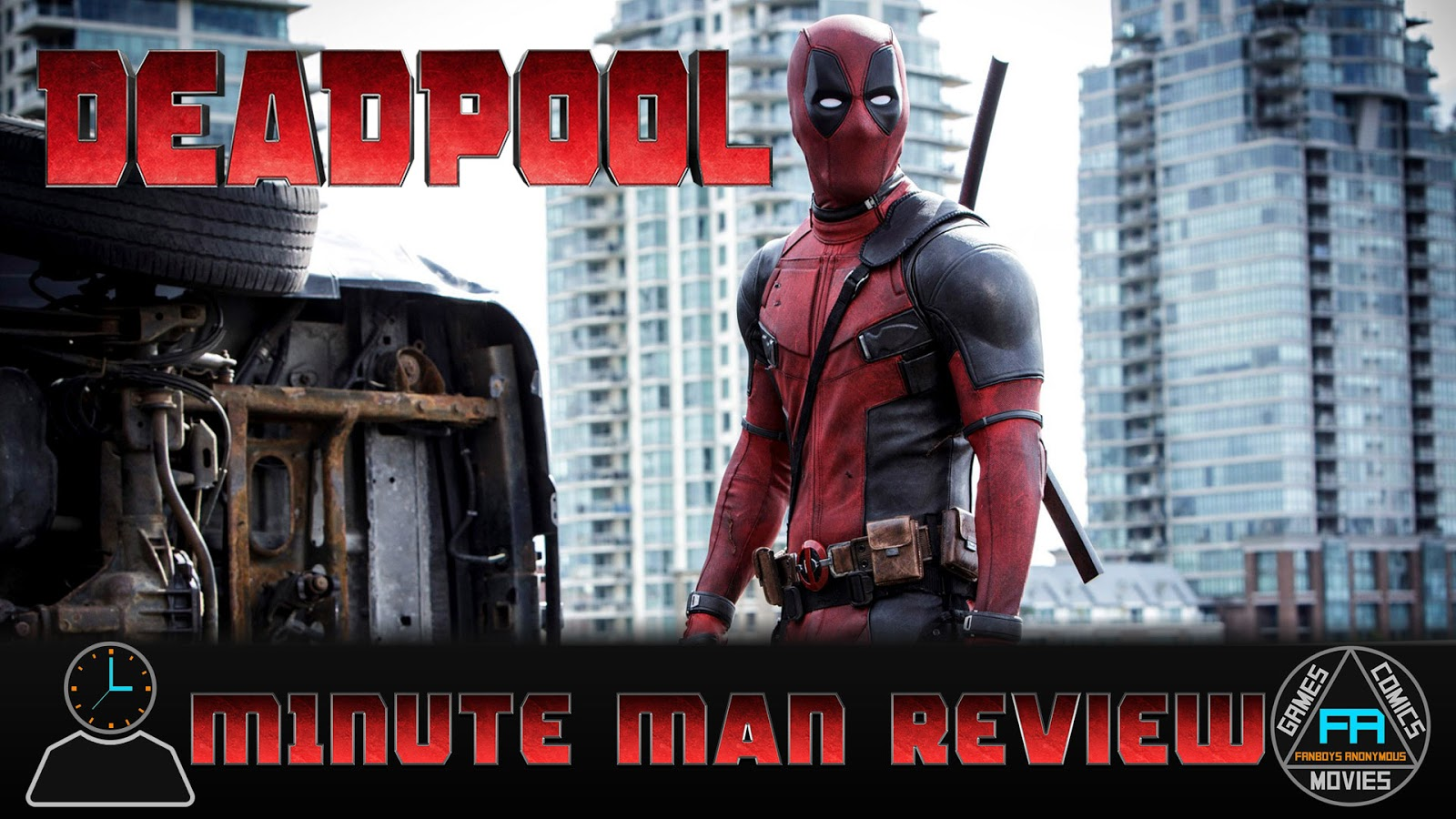movie review Deadpool podcast