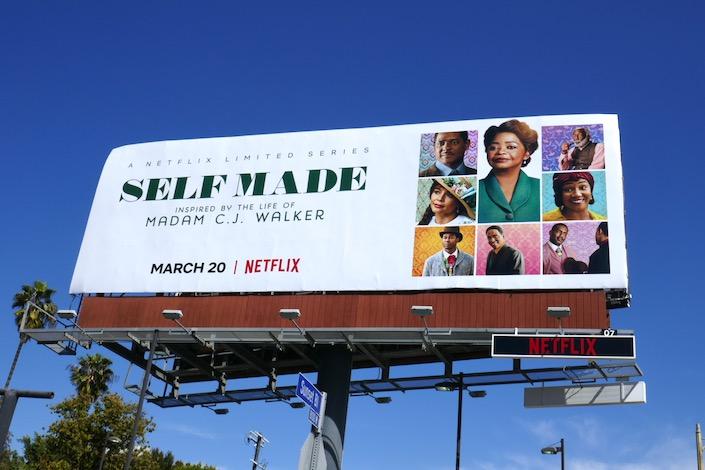 Self Made series premiere billboard