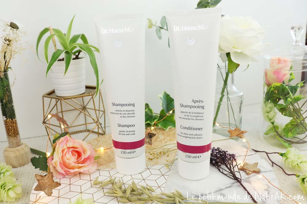 Dr Hauschka shampoing et après shampoing 100% naturel