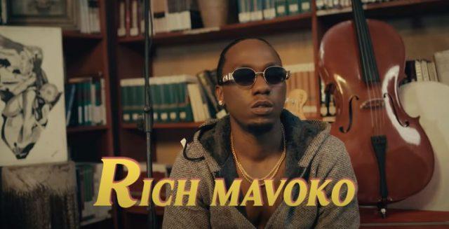 VIDEO MP4   Rich Mavoko – Mapenzi