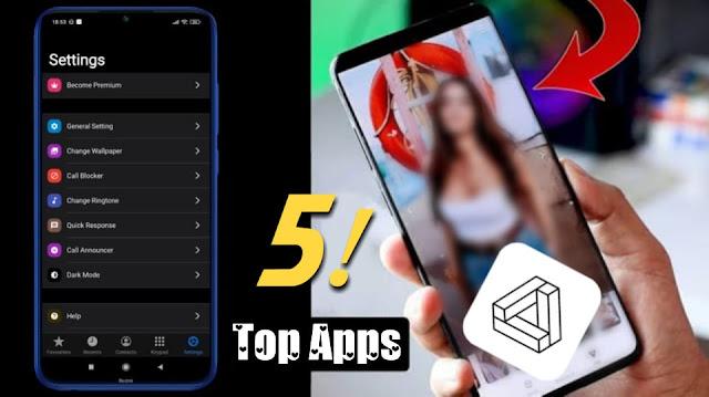 تطبيقات أندرويد رائعة ستغير حياتك - افضل 5 تطبيقات 2020, IcallScreen, Bitcloud , Link File Share, Mojito , Pixel4D