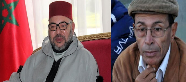 الملك محمد السادس يعزي في وفاة عبد الخالق اللوزاني