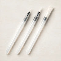 Stampin'Up! Water Brushes, sold in a set of 3