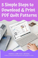 Learn to Print + Download PDF Patterns - Quilting Tutorial
